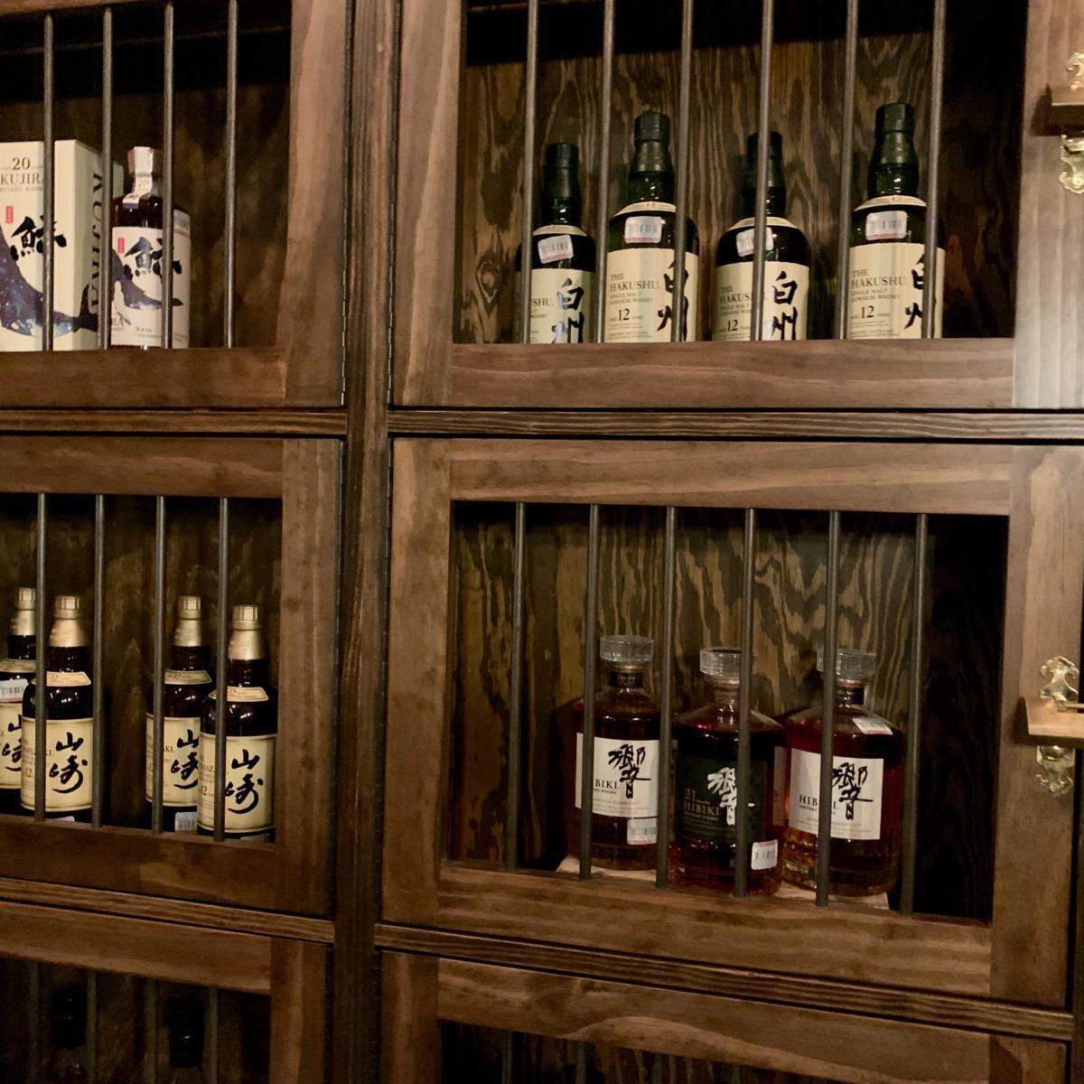 Toukei Izakaya whisky whiskey storage