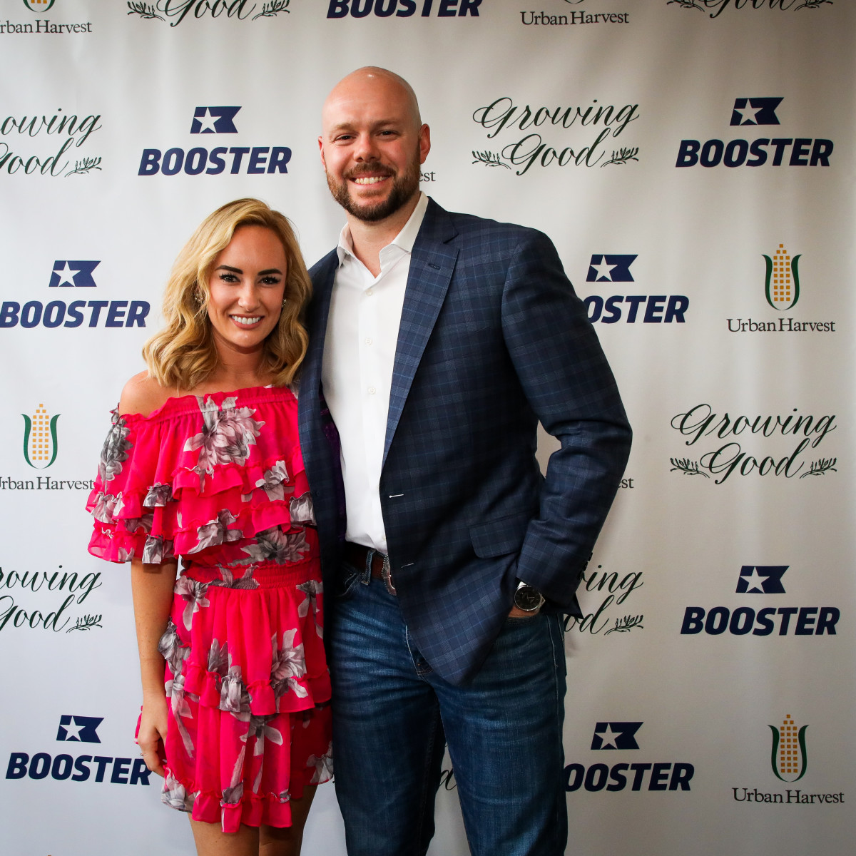 Houston Astros Collin McHugh Growing Good Urban Harvest Revival Market Kat Rogers Ryan Pressly