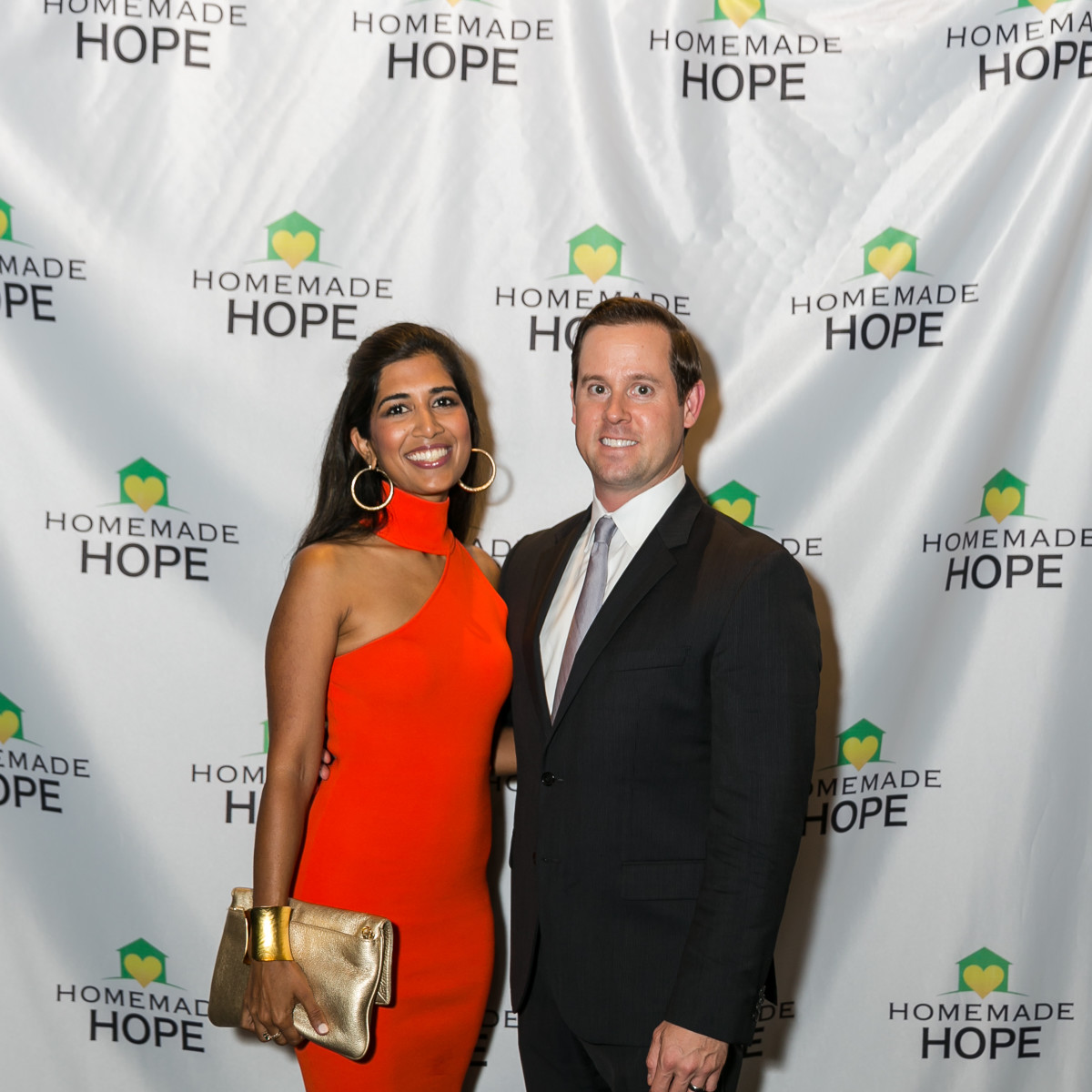 Homemade Hope Gala Divya Chris Brown
