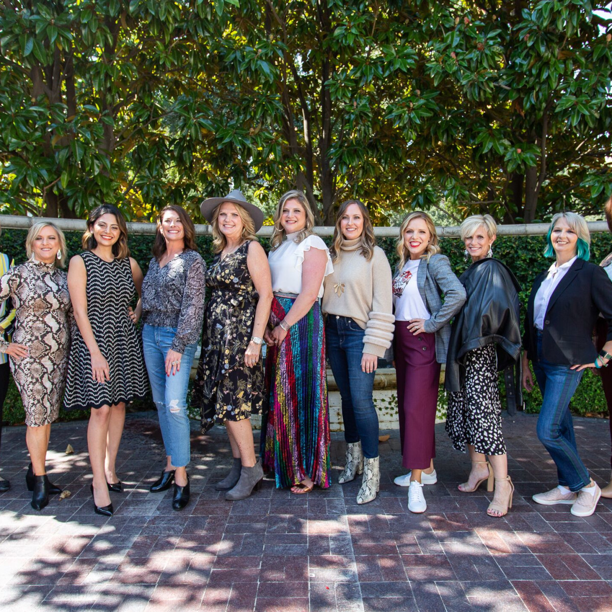 Ann Eisemann, Claudia Kuntz, Kezhal Dashti, Stacey Peterson, Linda Bezner, Lauren Shecht, Jessica Baxter, Holly Tomlin, Pamela Waters, Julie Bass, Natasha Reed