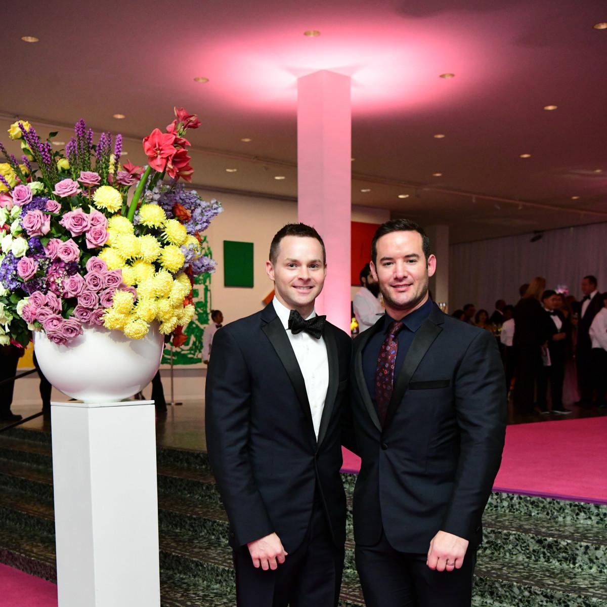 MFAH Grand Gala Ball 2019 Jerry Hooker Jacob Sudhoff