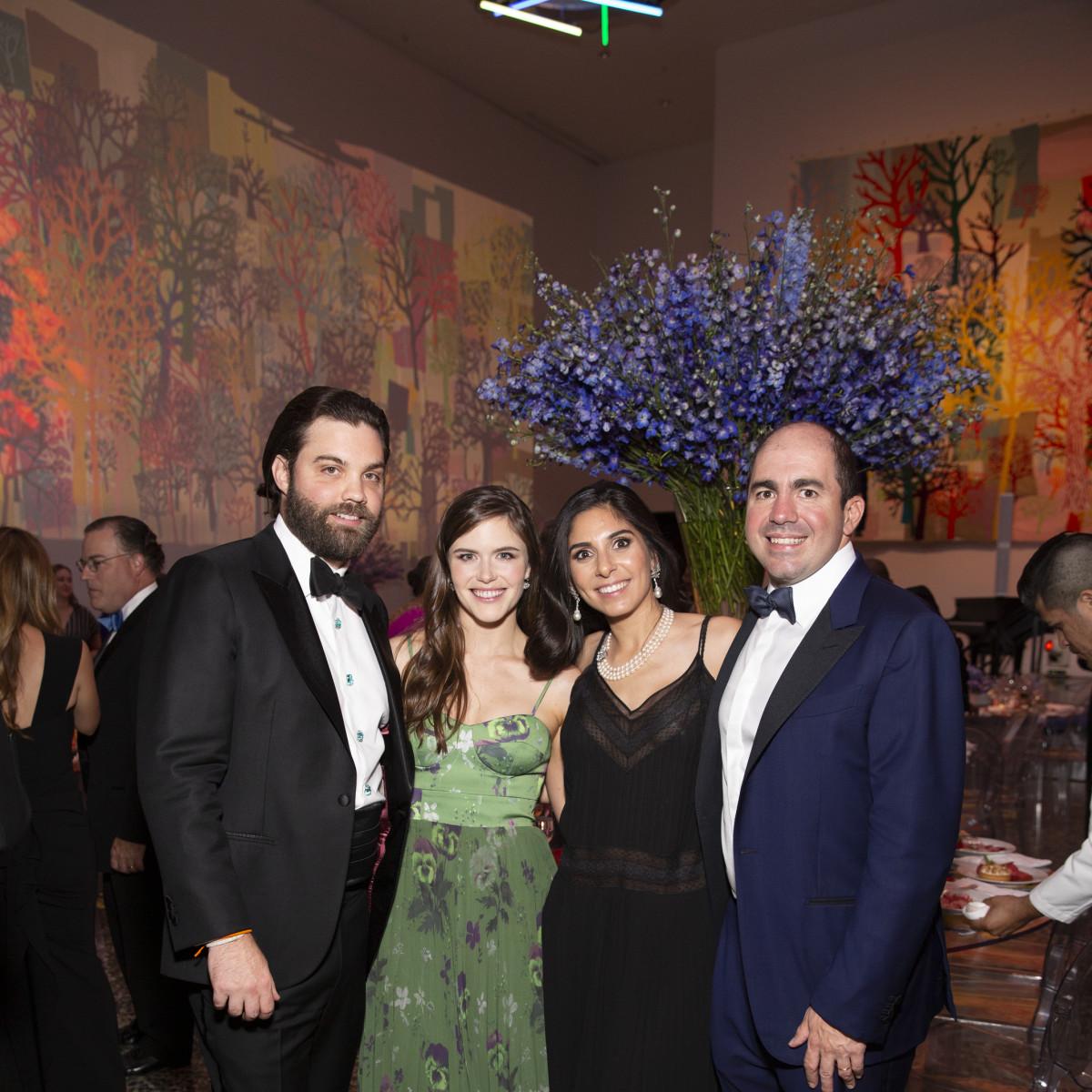 MFAH Grand Gala Ball 2019 Keefer Lehner; Laura Murphy; Mona and Andrew Sarofim