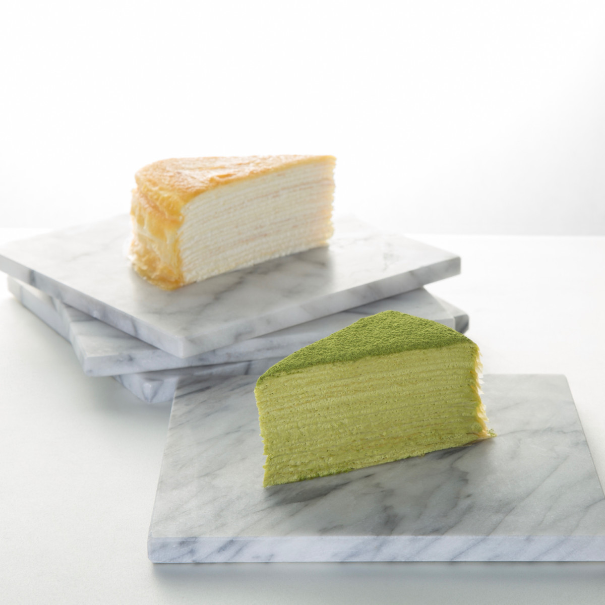 Lady M crepe cake slices