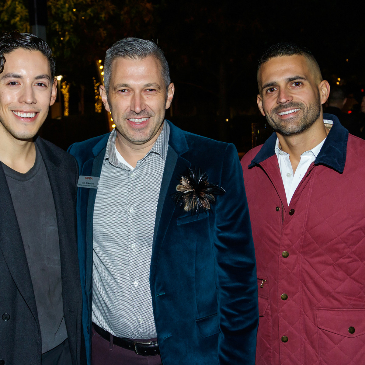 David Gonzalez, Jim DiMarino, Kelvin Moreno