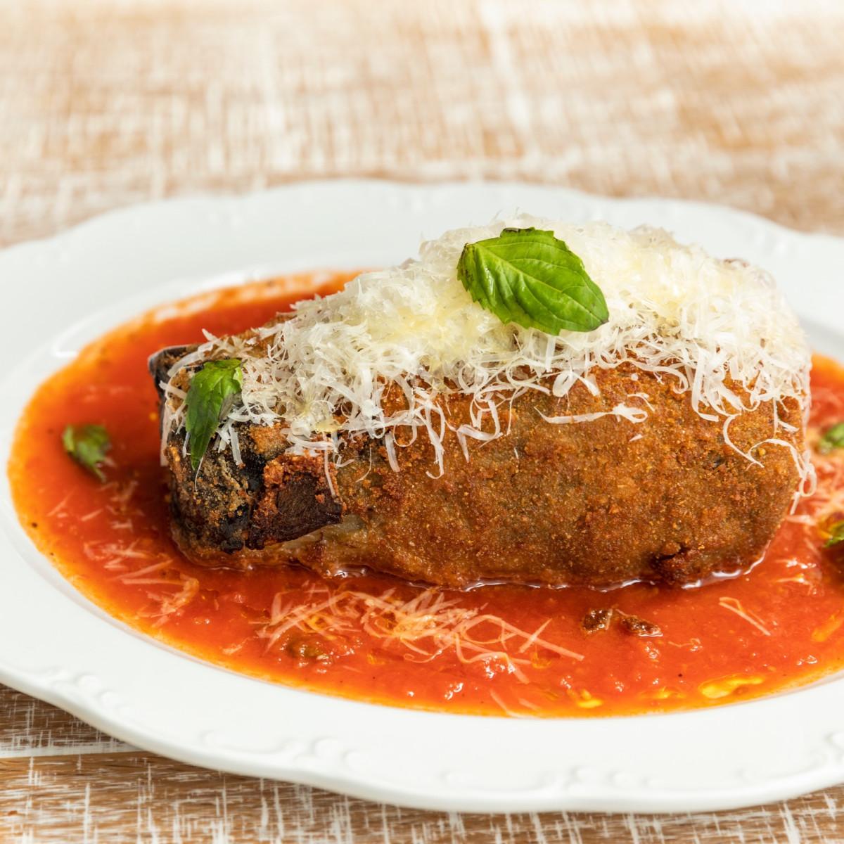 Rosalie Italian Soul eggplant parmesan