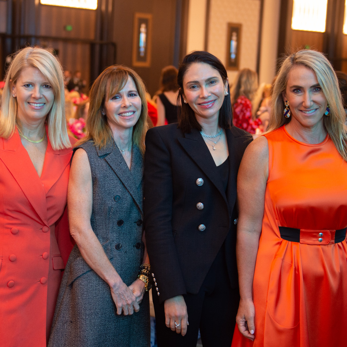 Razzle Dazzle Luncheon 2019 Jenny Kempner, Martha Long, Jennie Segal, Courtney Sarofim
