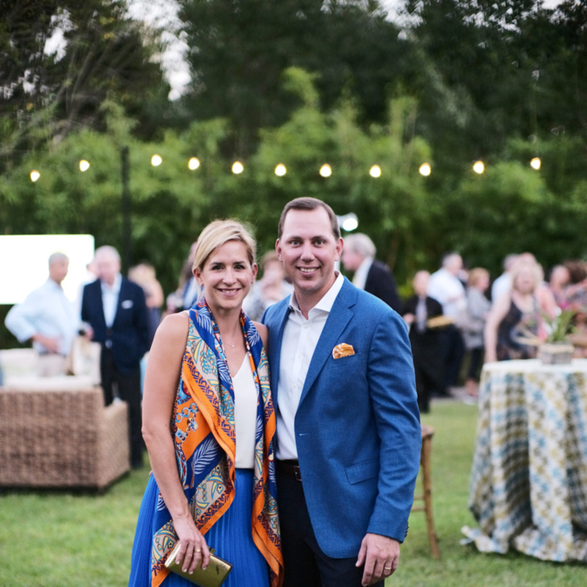 Houston Zoo Conservation Gala 2019 Courtney Solleveld, bas Solleveld
