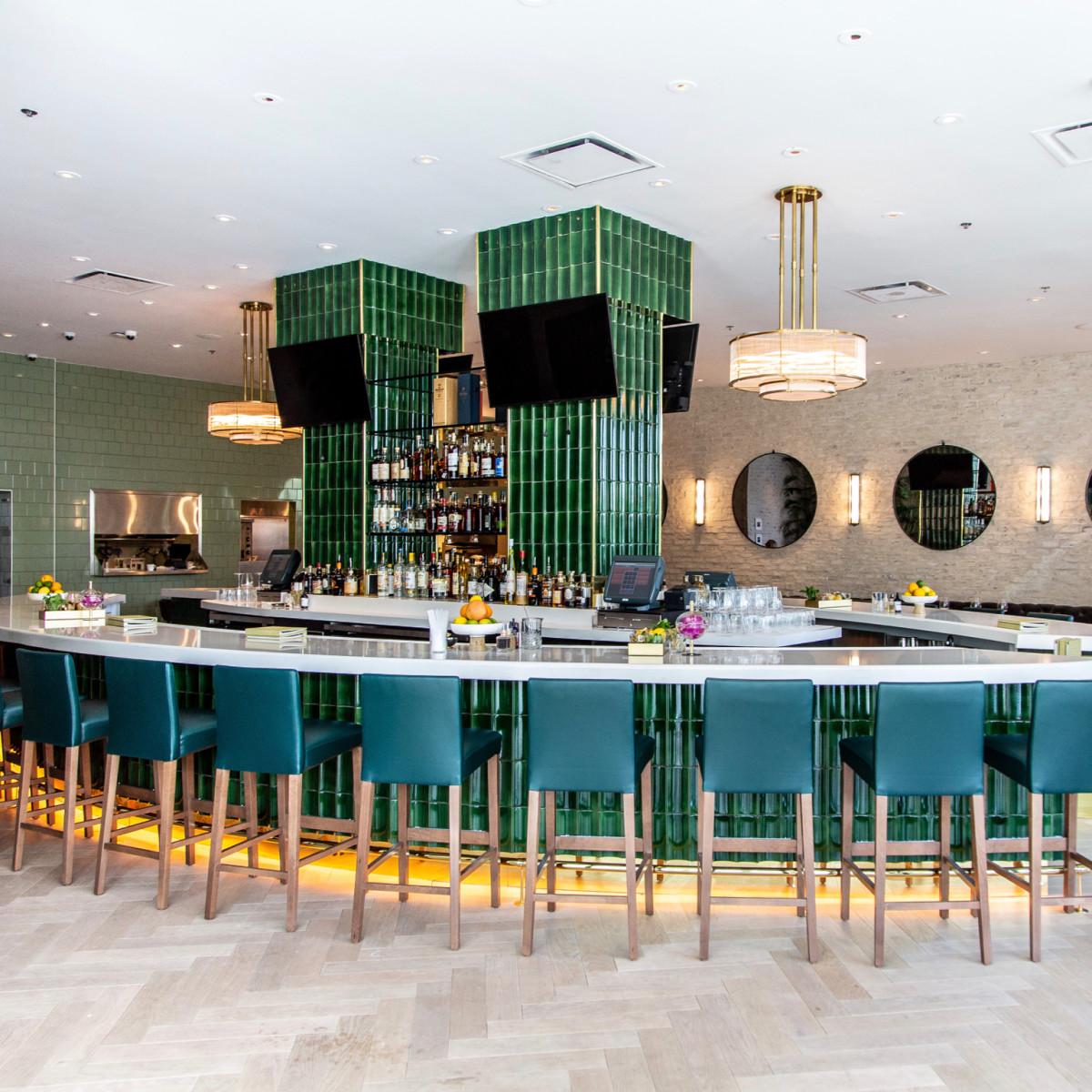 Annie Cafe bar interior
