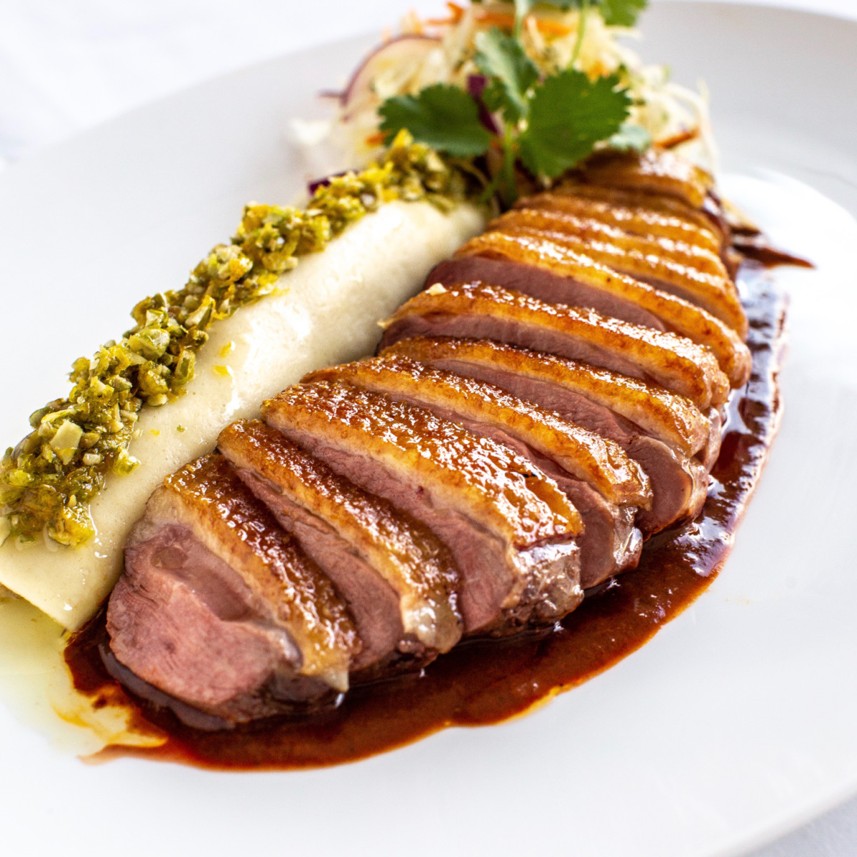 Annie Cafe roasted duck breast