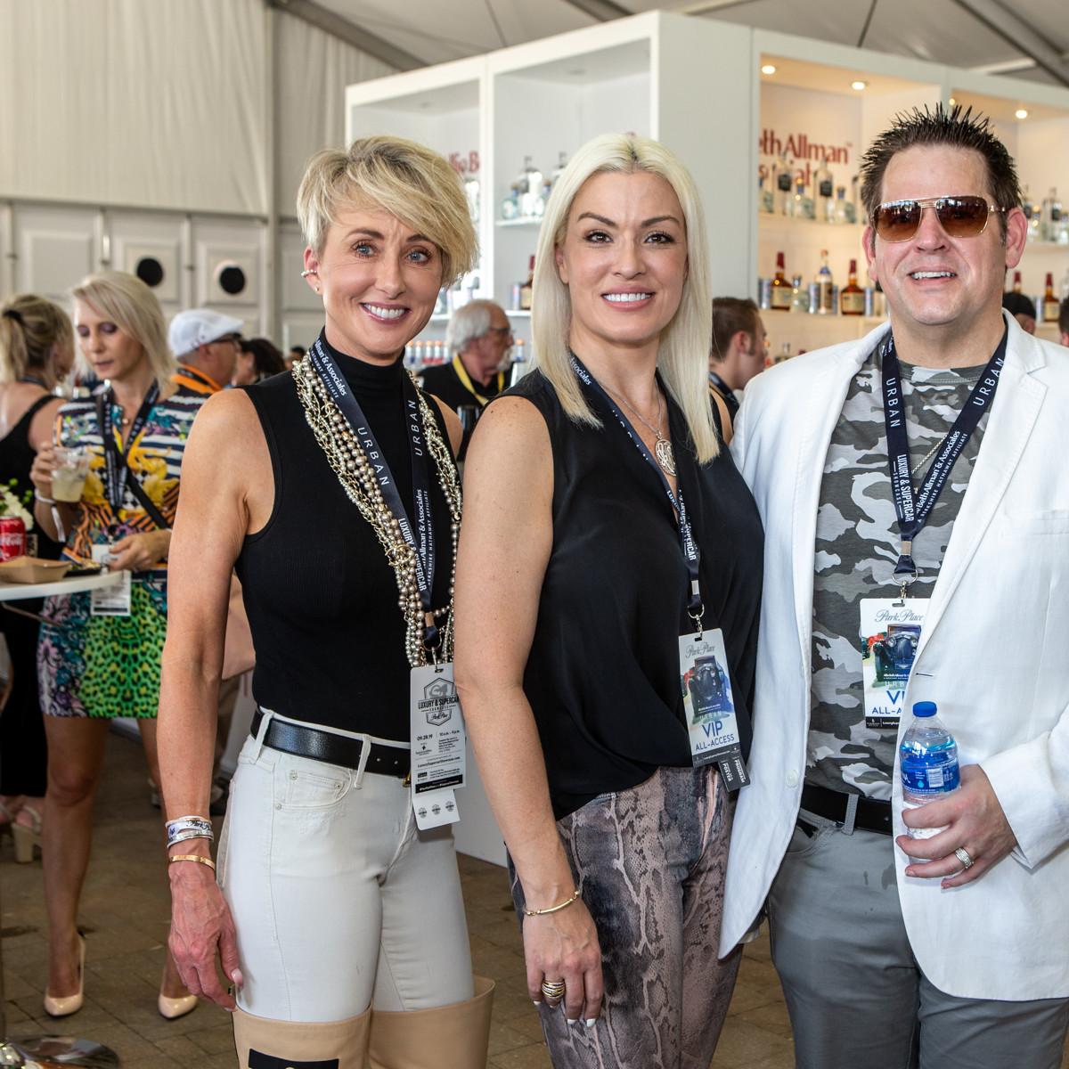 Kim Collins  with Amanda & Charles Bancroft