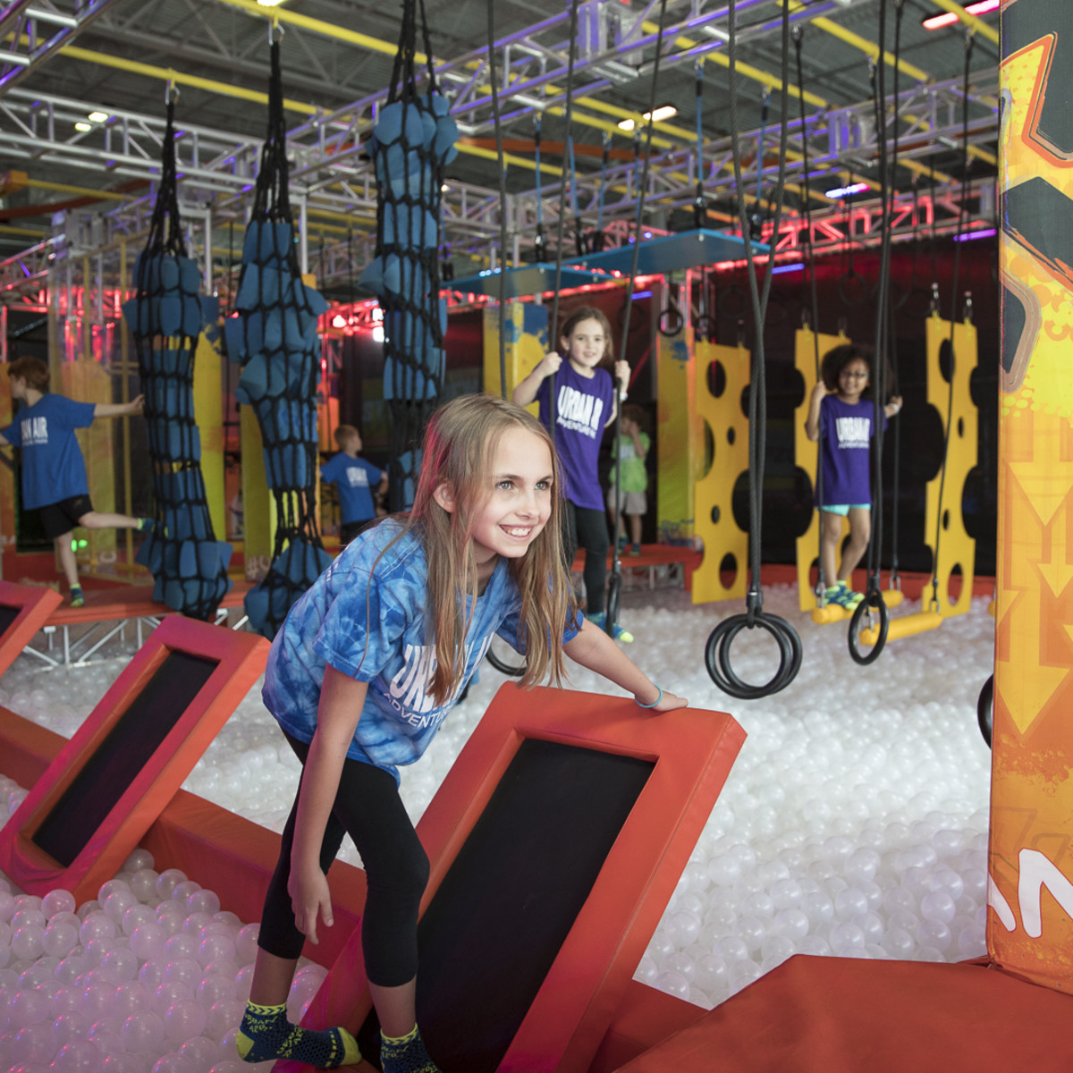 Urban Air Adventure Park warrior course
