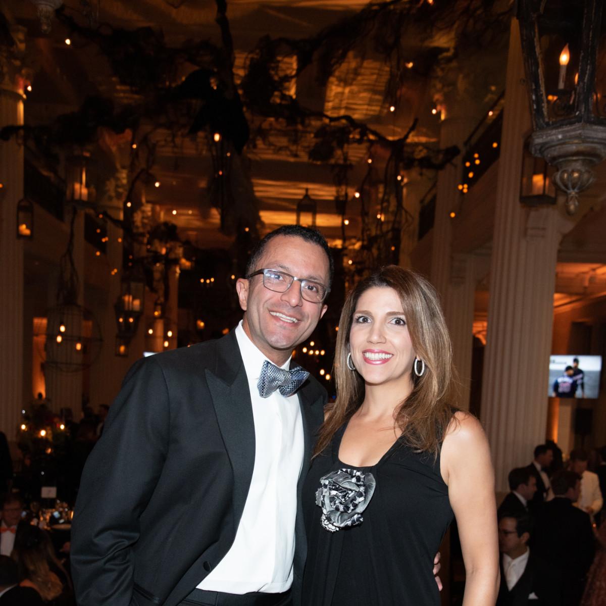 Children's Museum of Houston gala 2019 Dr Amir Kashani and Neekie Kashani