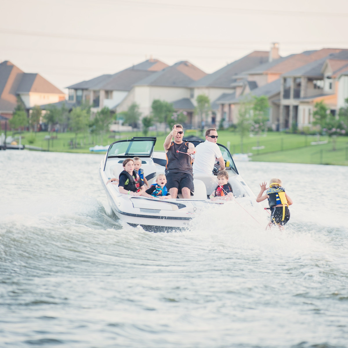 Towne Lake watersports
