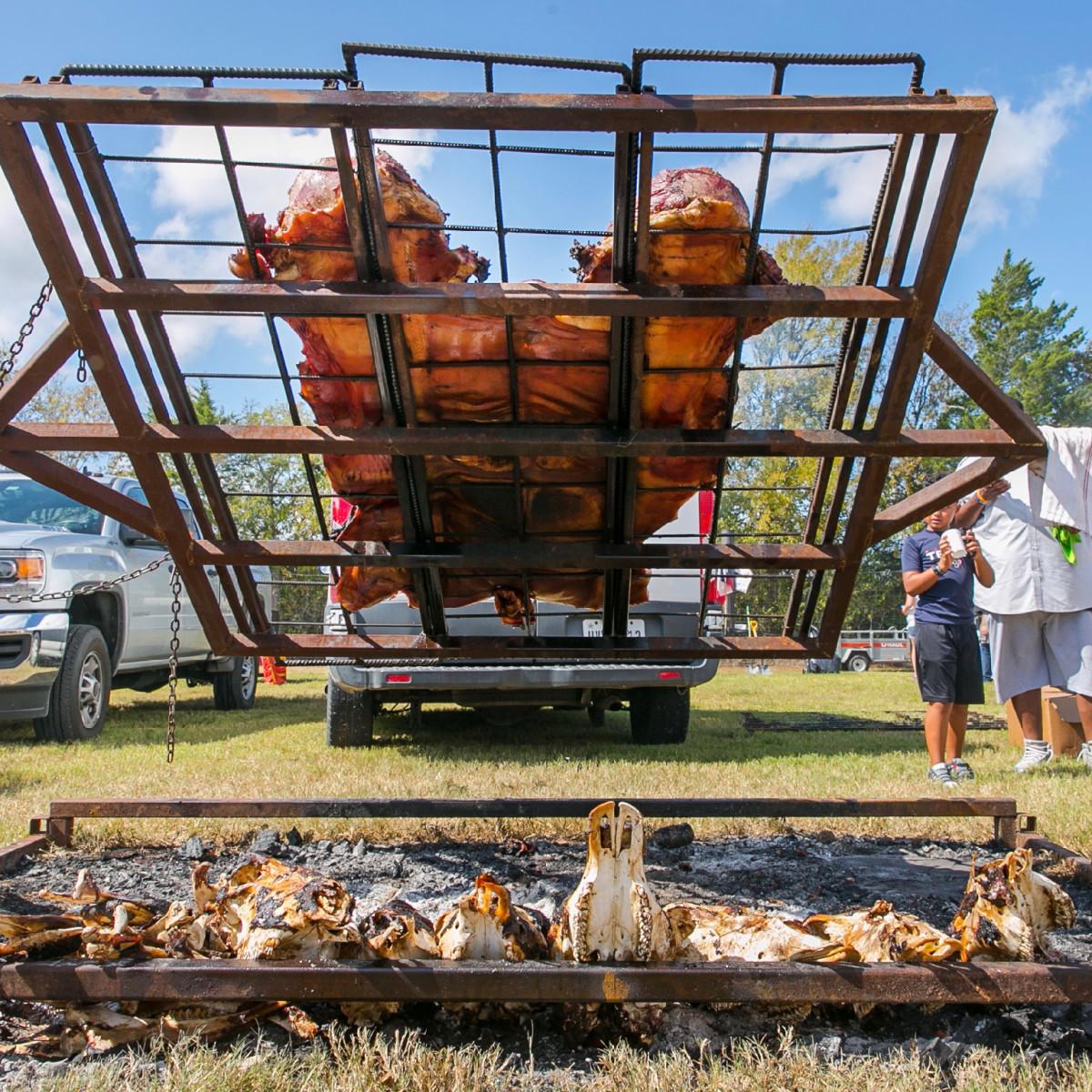 Butcher's Ball 2019 Black Hill Meats hog