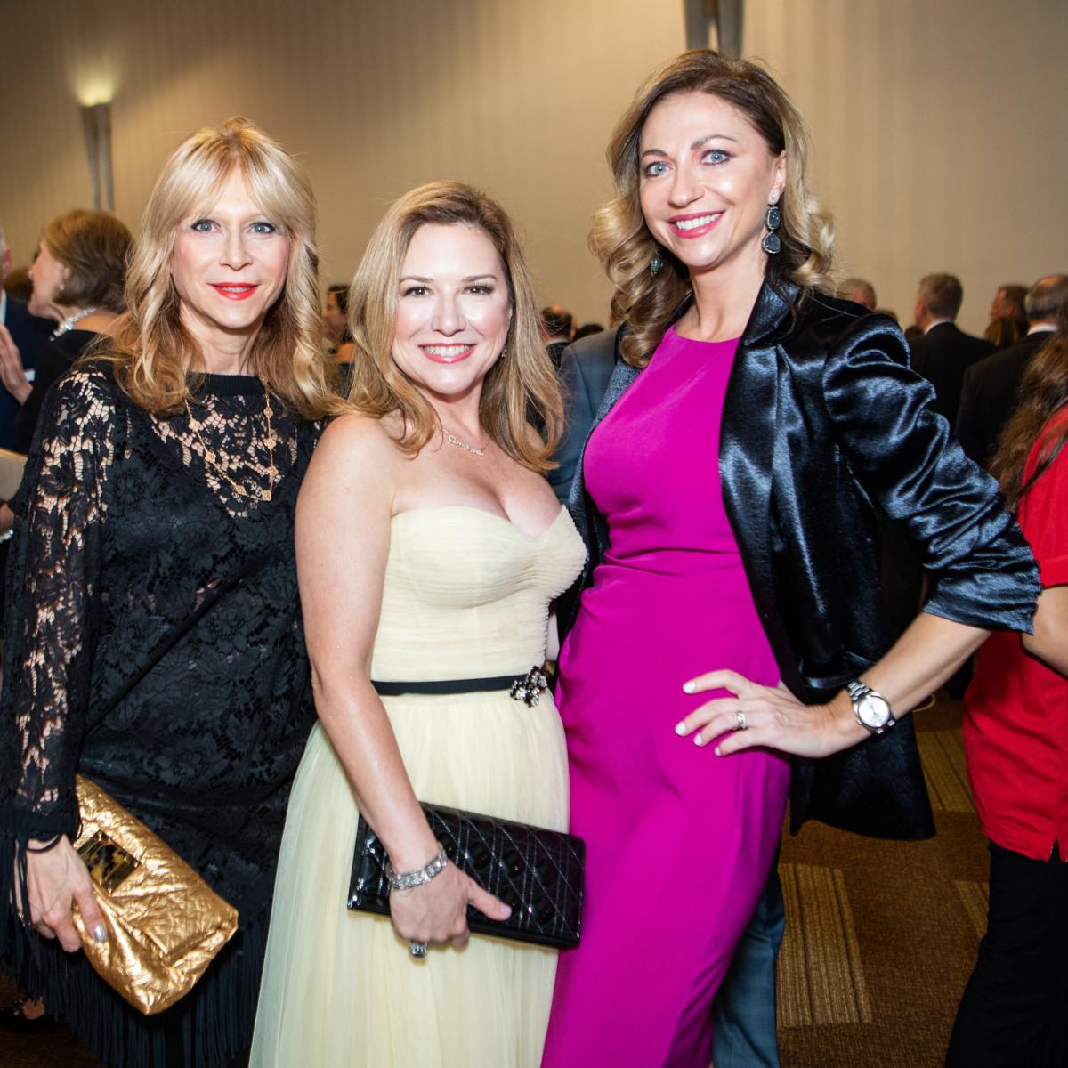 Crime Stoppers Gala 2019 Liena Morrison, Donae Chramosta, Yelena Grinina