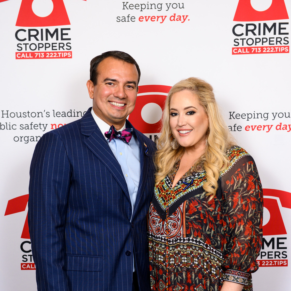 Crime Stoppers Gala 2019 Marc Lawson, Whitney Kuhn Lawson