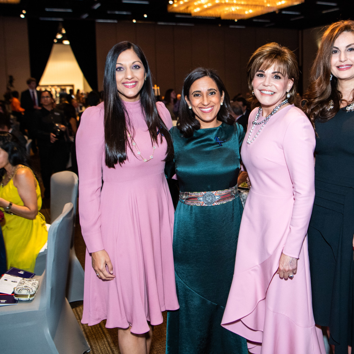 Crime Stoppers Gala 2019 Sippi Khurana, Rania Mankarious, Hallie Vanderhider, Brigitte Kalai