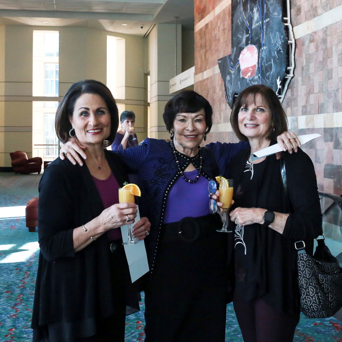 Ellen Stotmeister, Velma Walker, Jean Leitenberger
