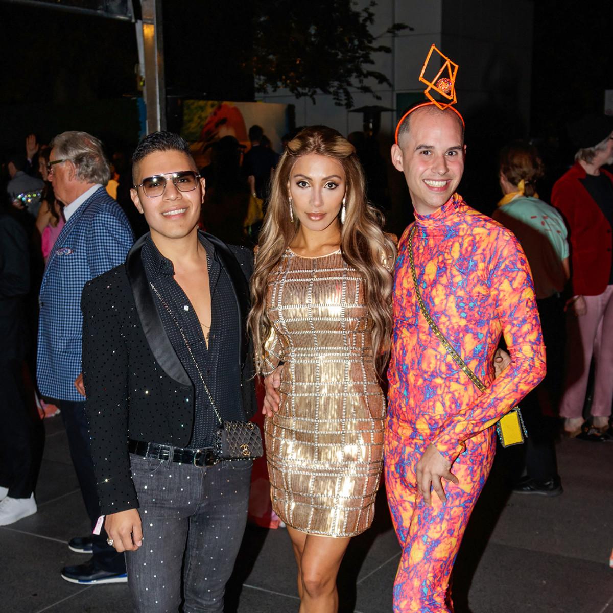 Dan Rodriguez, Arianna Angara, Joseph Steffen