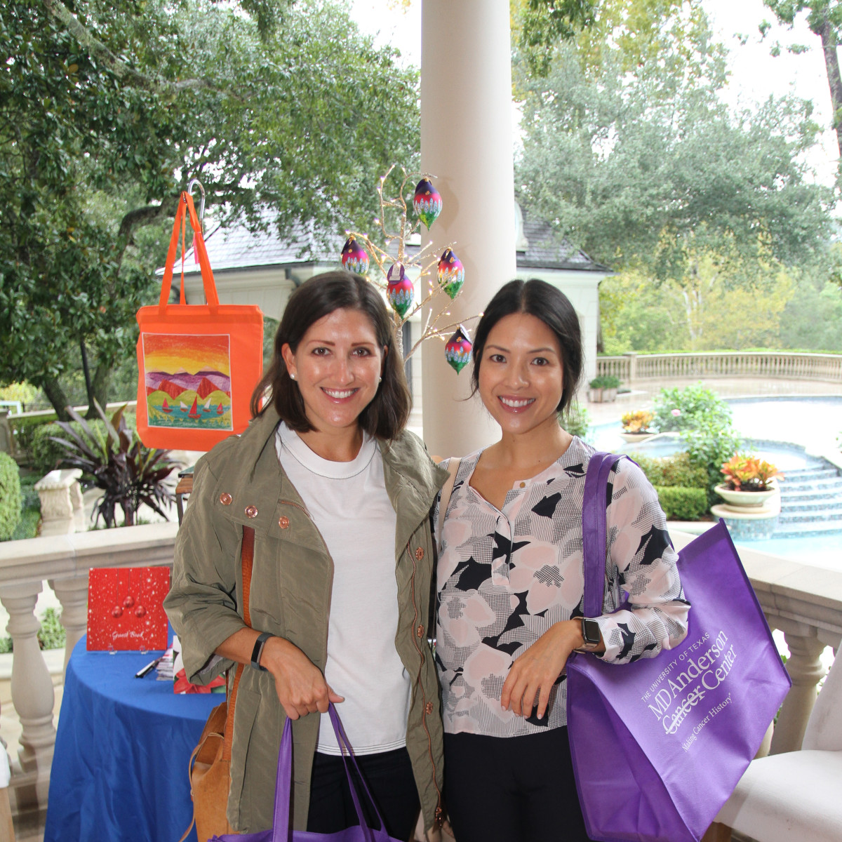 Paige Fertitta Children's Art Project trunk show MD Anderson Caroline Brown, Nancy Bihlmaier