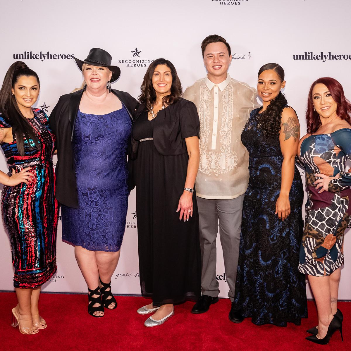 Rebecca Bender, Kathy Bryan, Jeri Moomaw, Erik Gray, Leah Albright, Rebekah Charleston