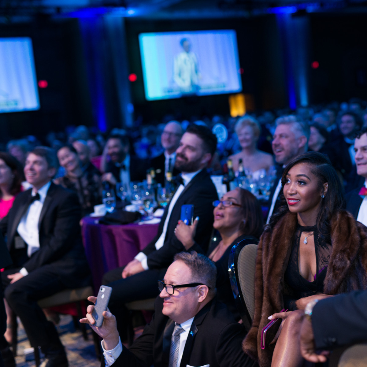 The crowd at Black Tie Dinner 2019