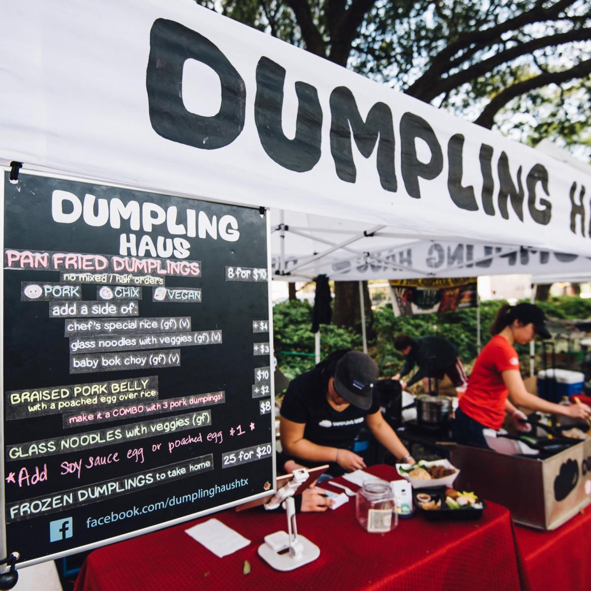 Dumpling Haus stand