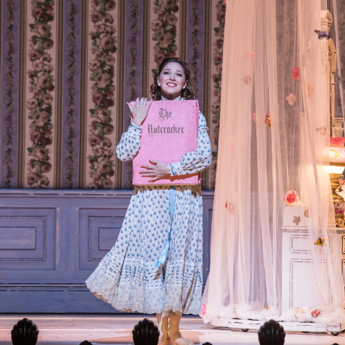 Houston Ballet Principal Melody Mennite as Clara in Stanton Welch's The Nutcracker