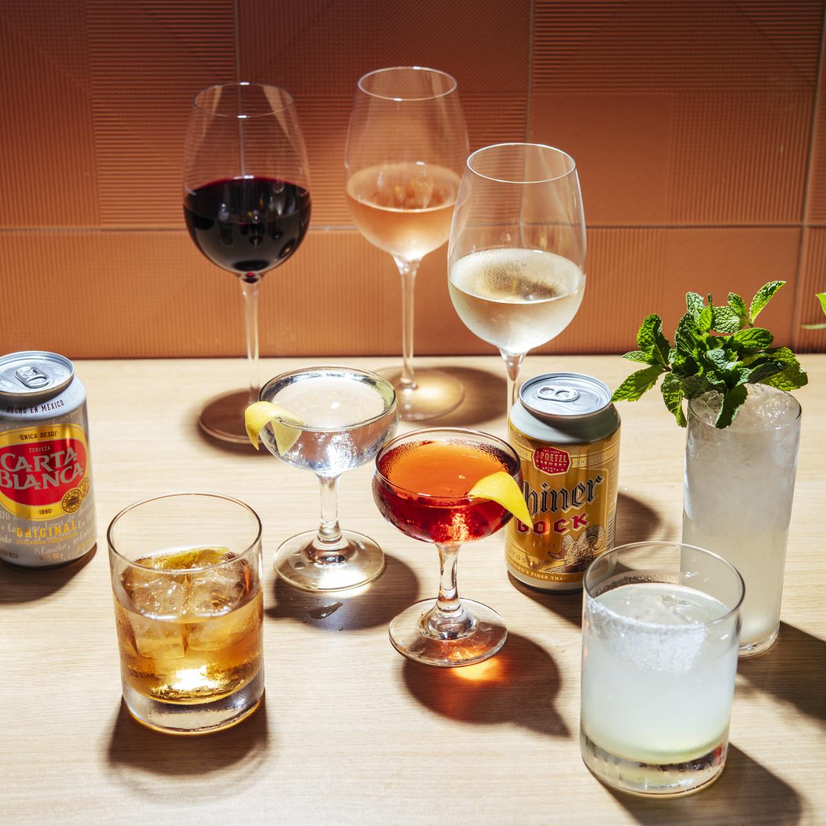 Politan Row happy hour cocktails