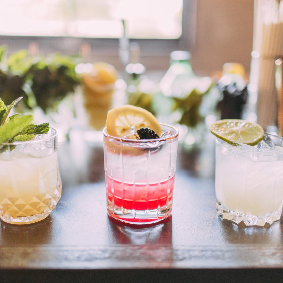 Box Street Social cocktails
