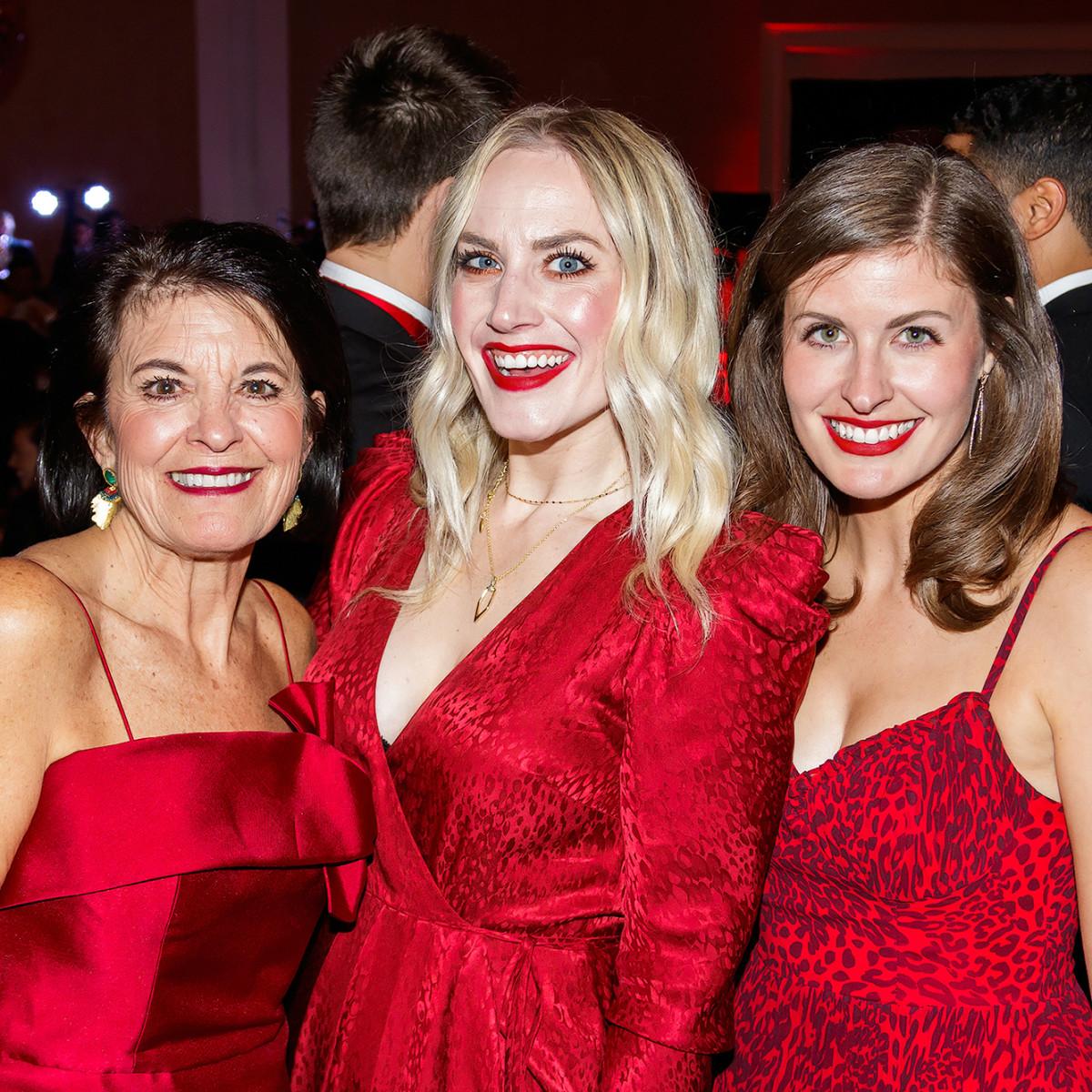 Anne Lawson, Danielle Broome, Grace Anne Bills