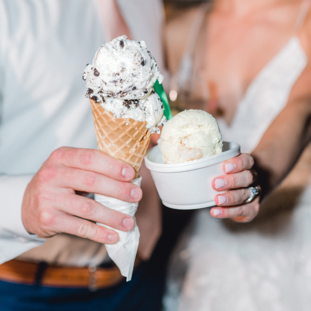 Gypsy Scoops, ice cream, Sidawi Haney wedding