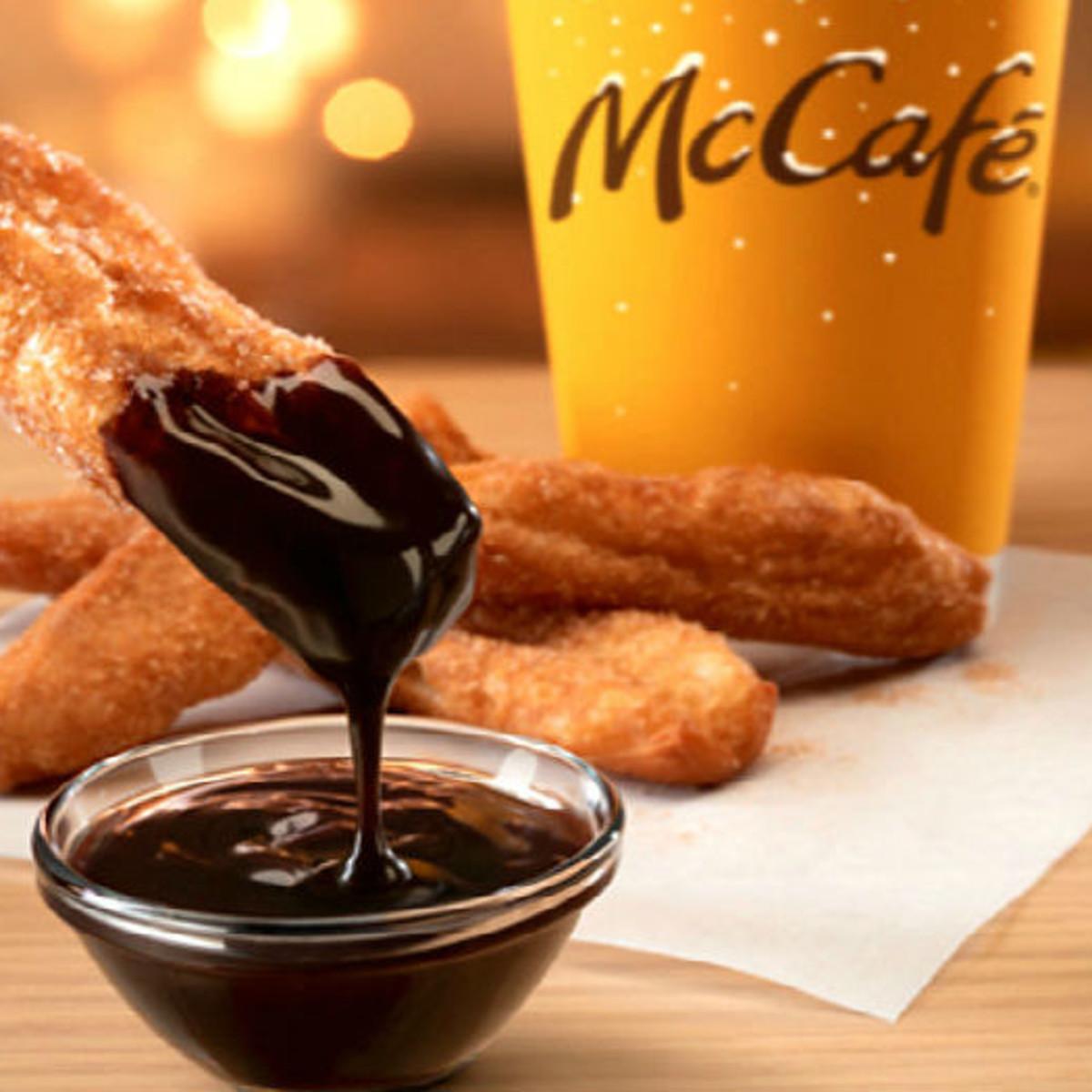 Drive-thru Gourmet - McDonald's donut sticks