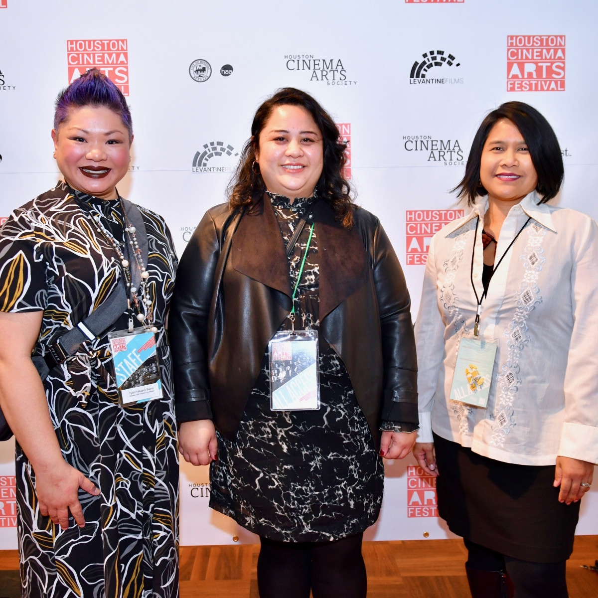 HCAF 2019 Opening Night:Cybil Saenz, Cecilia Mejia, Christy Poisot