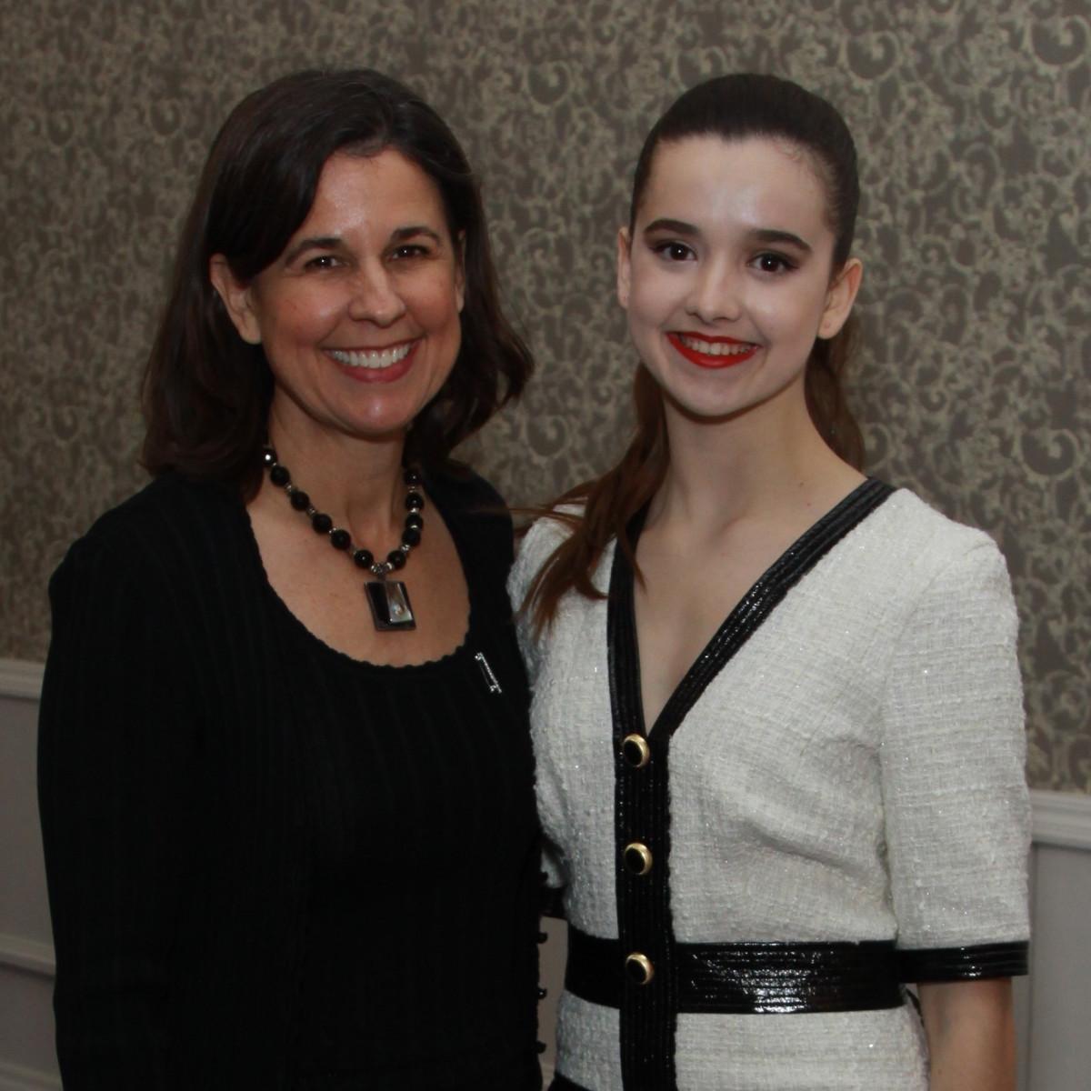 Megan and Lydia Pigott