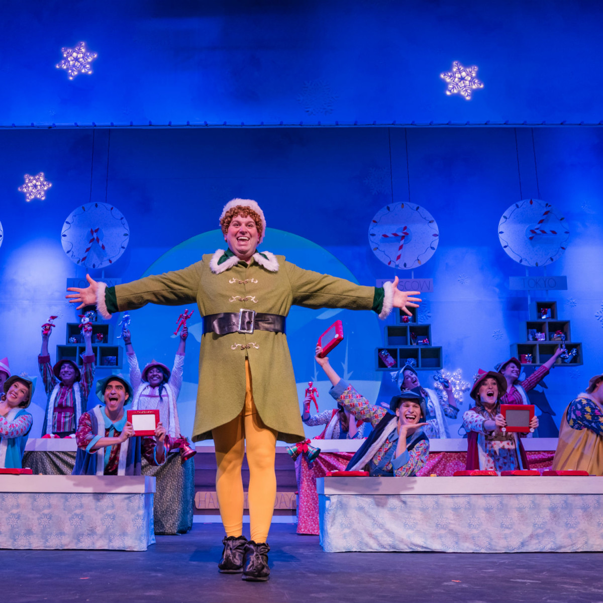 The Public Theatre of San Antonio presents Elf The Musical