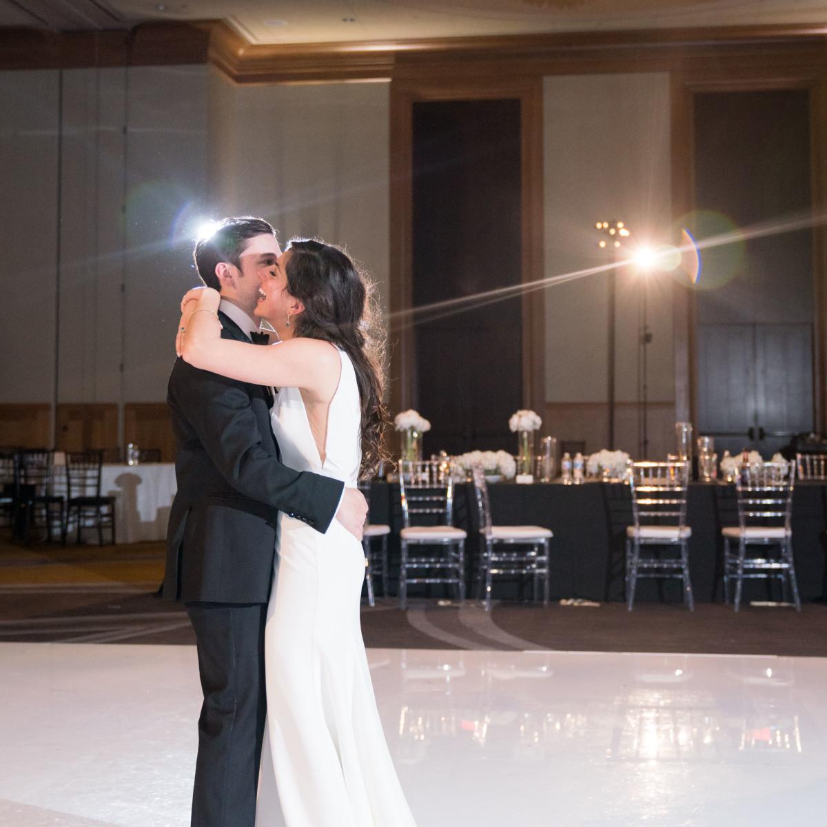 Sara and Brock Real Wedding