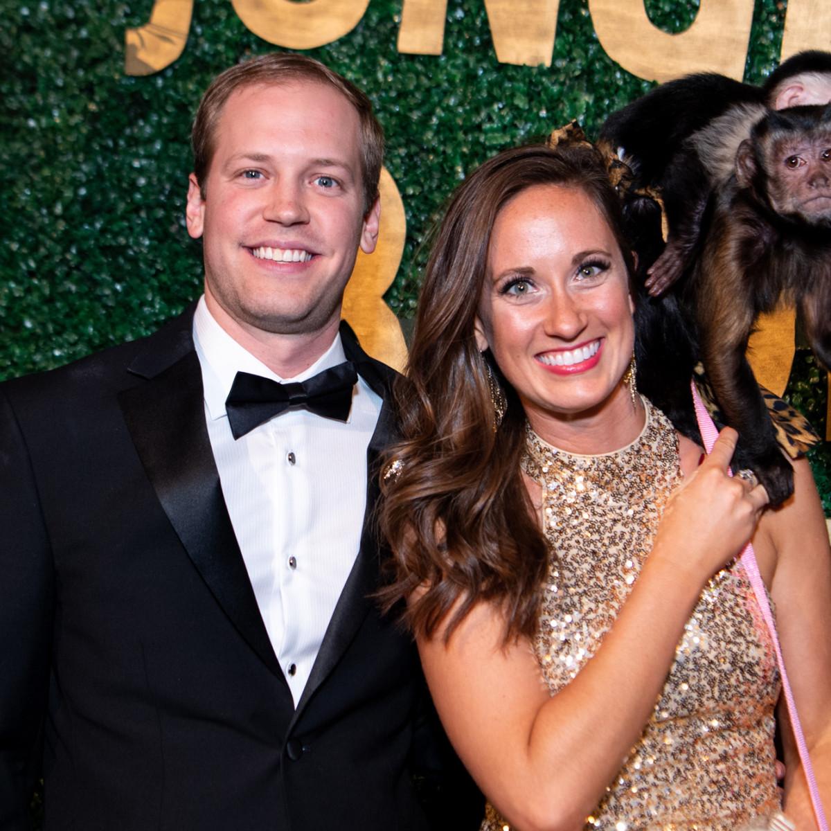 Jungle Book Gala 2019 Devin Sauer and Lindsey Koszela