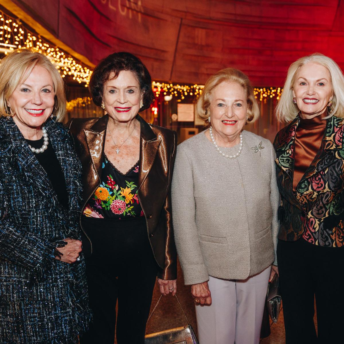 Nelda Cain Pickens, Betsey Urschel, Margot Perot, Nancy Cain Marcus