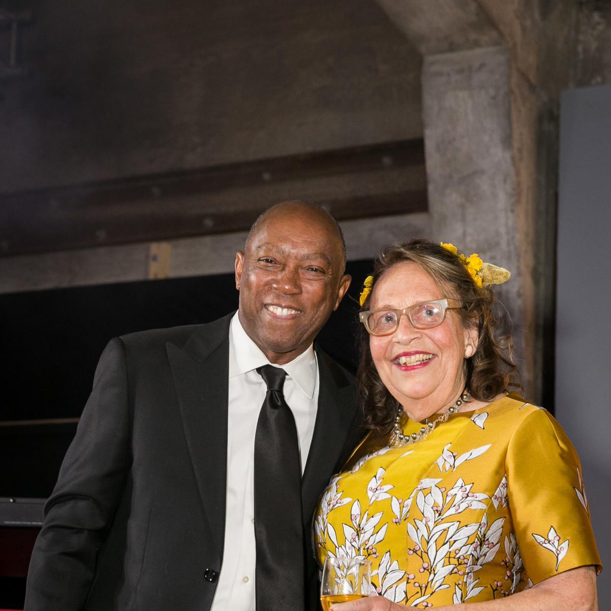 Orange Show Gala 2019 Mayor Sylvester Turner and Marilyn Oshman