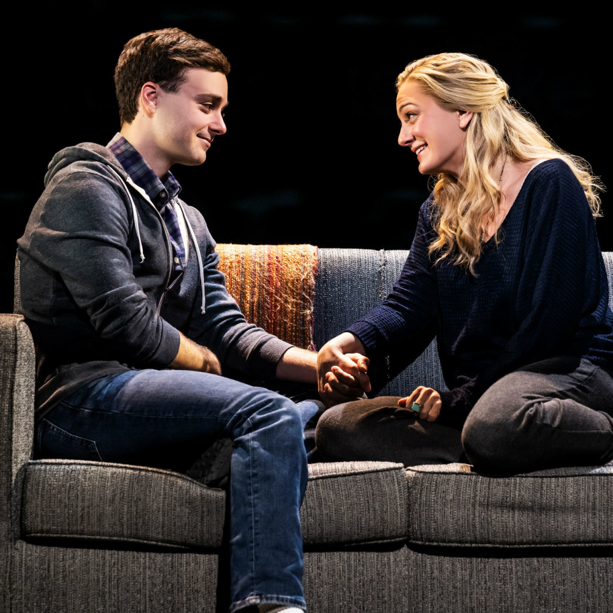 Stephen Christopher Anthony and Jessica E. Sherman in Dear Evan Hansen