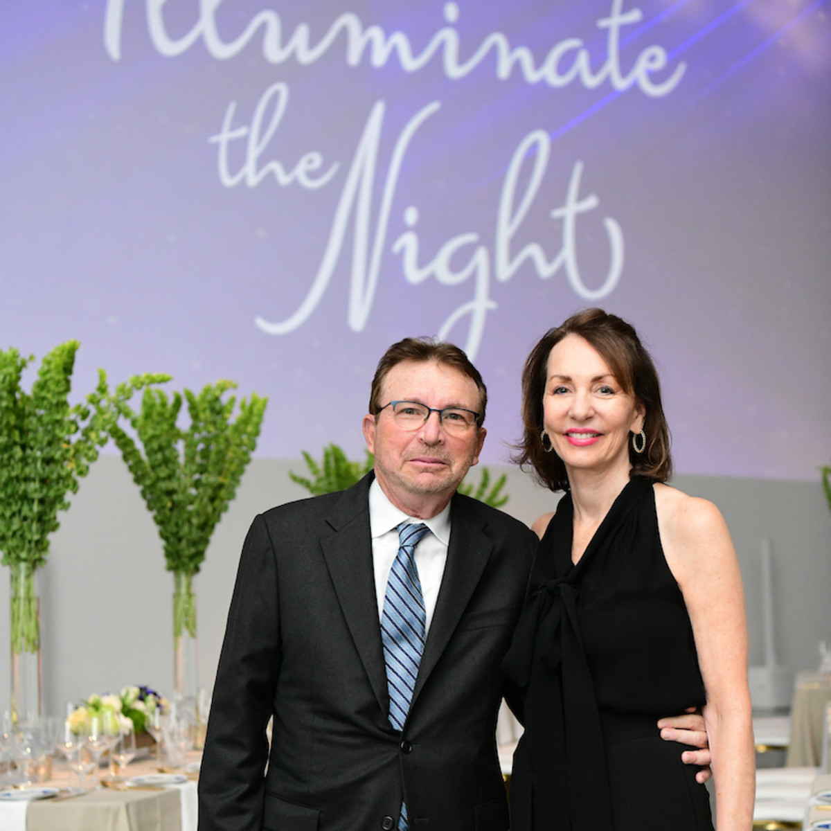 Illuminate the Night CMHH Dr. Ignatius and Susie Distefano