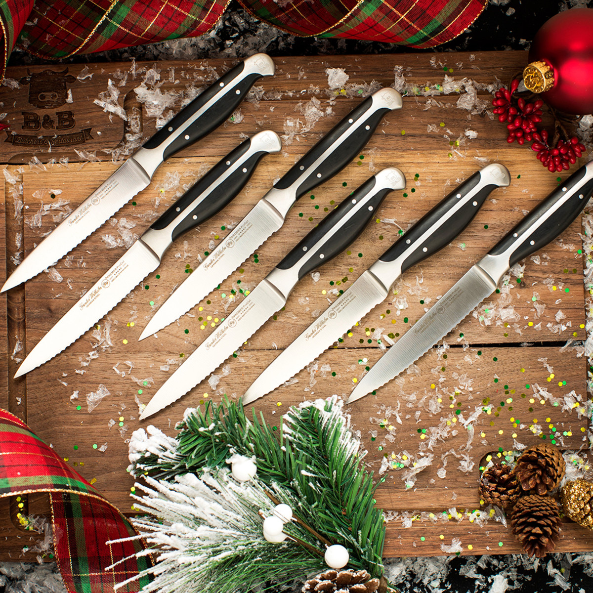 B&B Butcher knife set