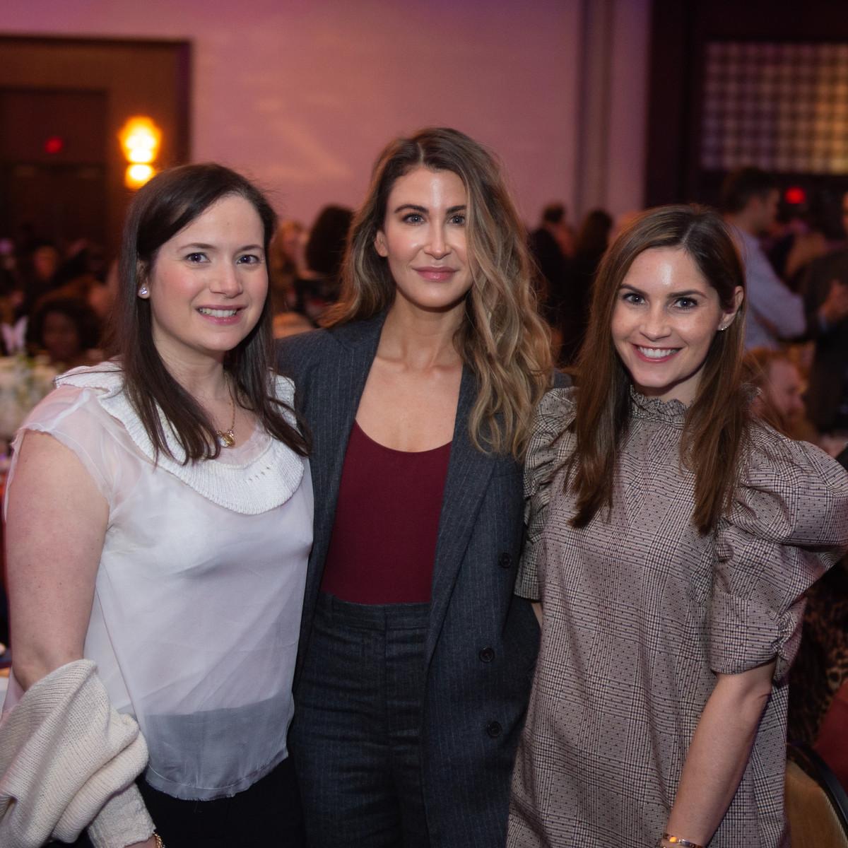 Holocaust Museum of Houston Astros Foundation Human Spirit Award Annina Emmott, Jennifer Altman, Melissa Aron