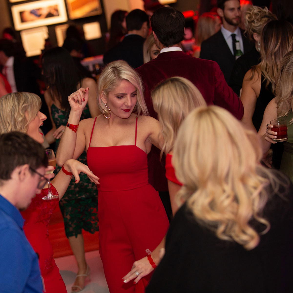 Kimbell Red Party