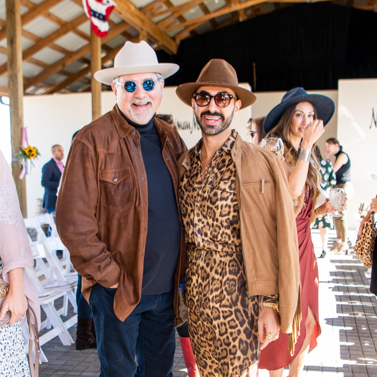 Fashion in the Fields 2019 Bob Cavnar Fady Armanious