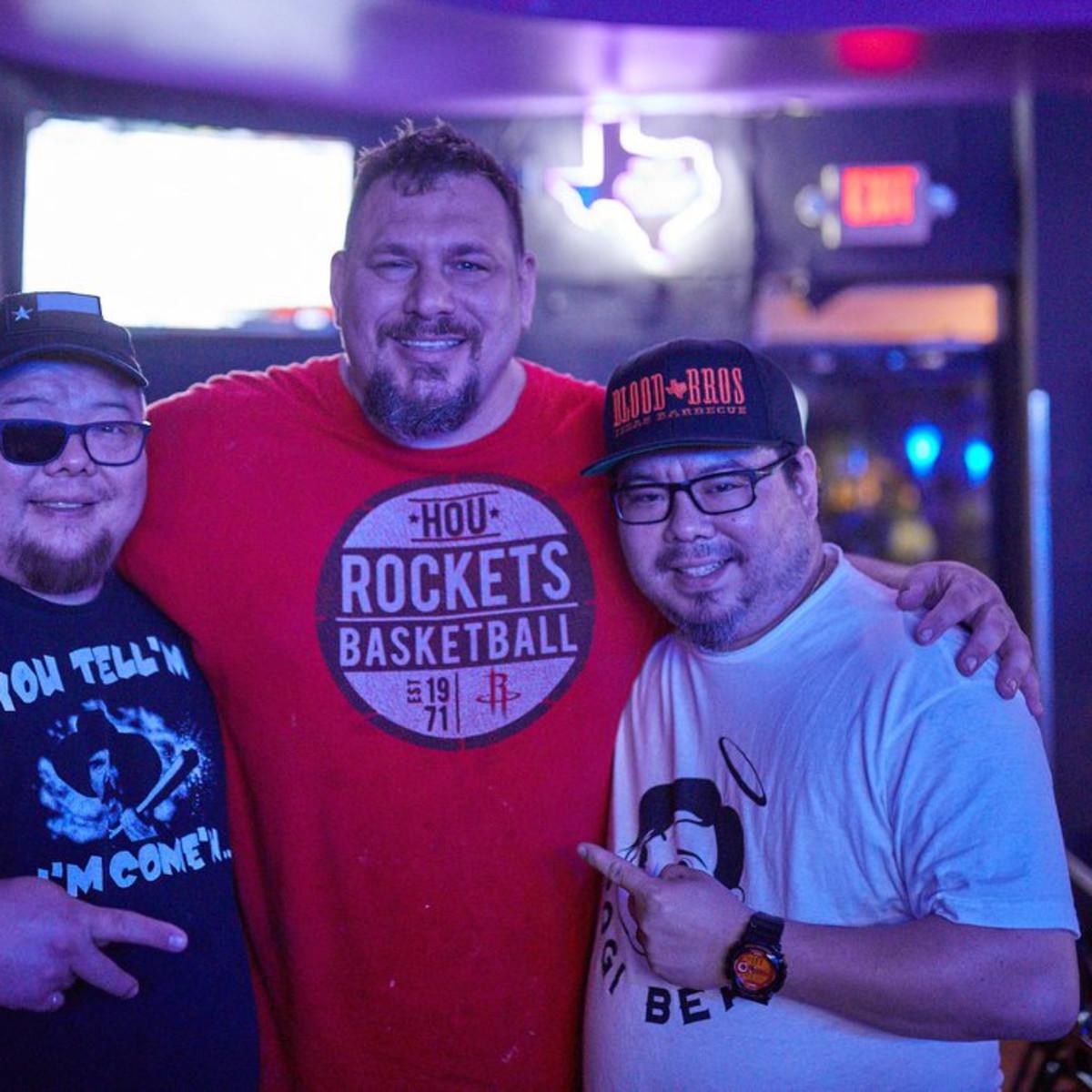 Terry Wong Jason Hill Robin Wong Glitter Karaoke