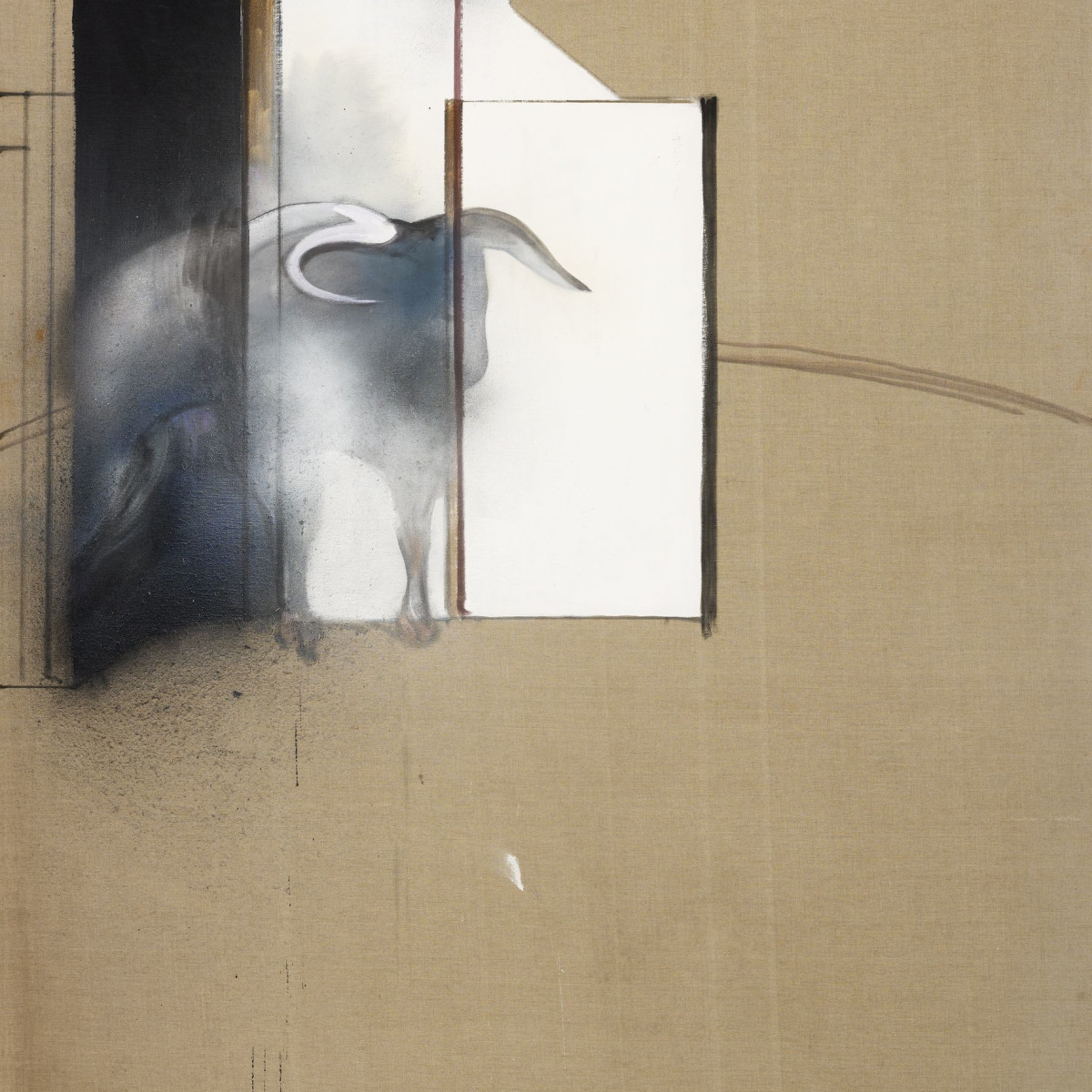 Francis Bacon Museum of Fine Arts, Houston Study of a Bull