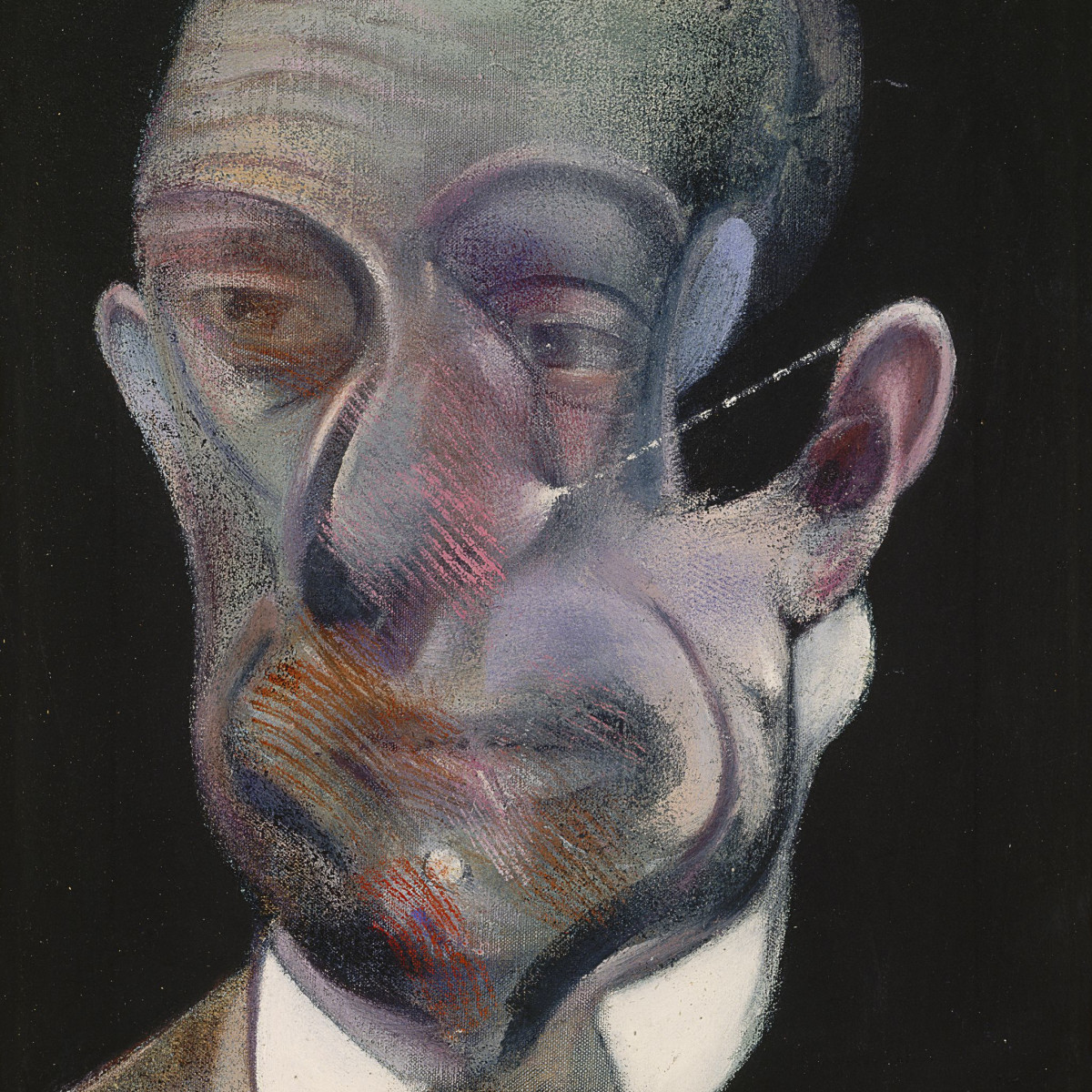 Francis Bacon Museum of Fine Arts, Houston Study for Portrait Michel Leiris