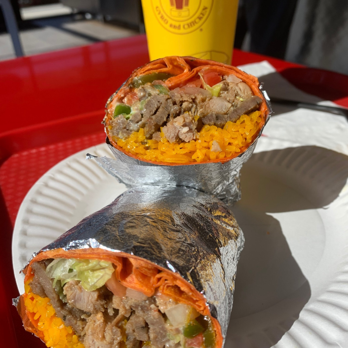 Halal Guys Garden Oaks burriot
